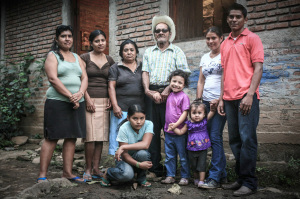 The Garcia-Díaz Family, La Pita, Nicaragua. Photo: Mara Nielsen